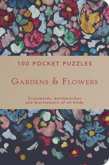 100 Pocket Puzzles: Gardens & Flowers