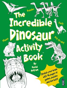 The Incredible Dinosaur Activity Book™