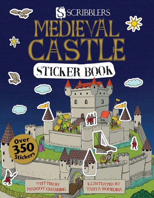 Medieval Castle Sticker Book
