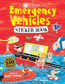 Emergency Vehicles Sticker Book