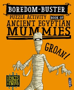 Boredom-Buster Puzzle Activity Book of Ancient Egyptian Mummies