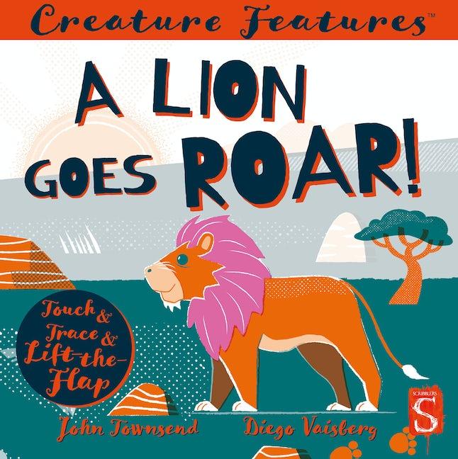 A Lion Goes Roar!