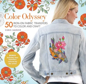 Color Odyssey: 50 Iron-On Fabric Transfers to Color and Craft