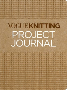Vogue® Knitting Project Journal