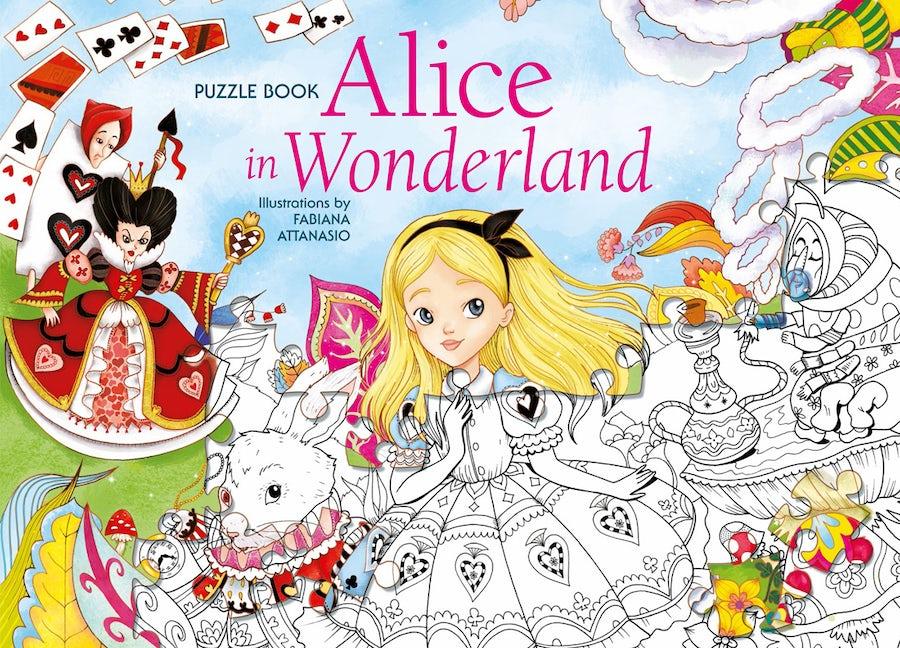 Alice in Wonderland Puzzle Book