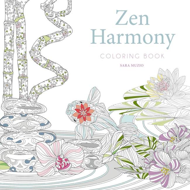 Zen Harmony Coloring Book